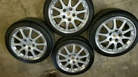 Porsche Sport Design II rims + Michelin Tires Vaughan, L4K 4R8