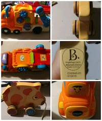 B toys pull piggy and tech car carrier Glendale Heights