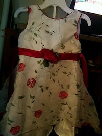 white and red floral sleeveless dress Woodbridge, 22191