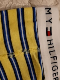2 Large Boxer TOMMY HILFIGER NEW L yellow Manchester, 03103