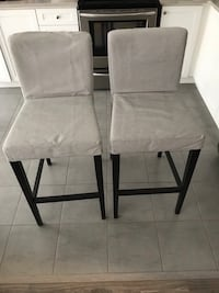 2 Bar chairs Hamilton, L8B 1V1