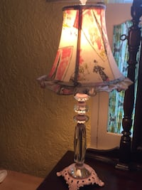Pink Parisian lamp Arlington, 22043