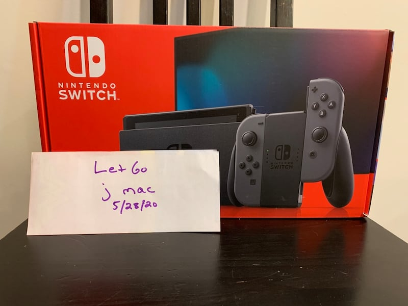 Nintendo Switch Grey 32gb NEW latest model *Will Ship UPS* a39d5a29-5202-49d0-bb21-66a819d310f3