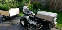 RIding mower/tractor with utility trailer  Mississauga, L5J 2E3