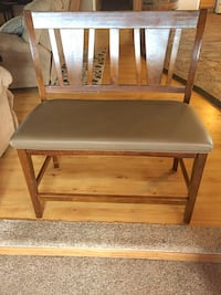 Tall Wooden Table Re-Upholstered Leather  Colorado Springs, 80929