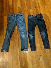 two blue denim jeans and black pants Shelby charter Township, 48317