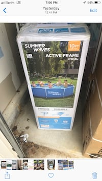 10x30 summer waves active frame pool Brand New