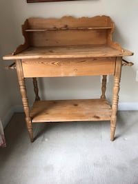 German Pine wash stand 35 x 22 x 41 Purcellville, 20132