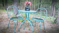 Vintage Wrought Iron Cafe Patio Table Sand Springs, 74063