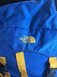 Vintage The North Face Expedition Internal Frame Blue Hiking Backpack