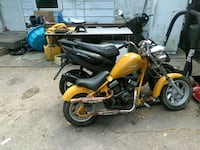 yellow and black naked motorcycle Indianapolis, 46203