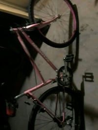 red and black hardtail mountain bike Tucson, 85713