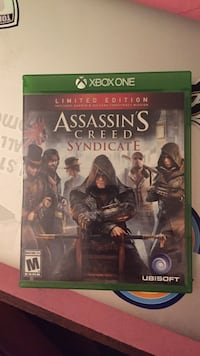 Assassin's Creed Syndicate Xbox One game case Kearneysville, 25430