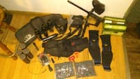 HUGE Paintball 32(THIRTY TWO) Piece Lot Including  Woonsocket, 02895