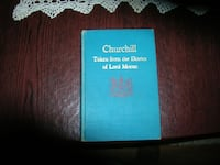 Churchill taken from the Diaries of Lord Moran -1966 1st American Edition Springfield