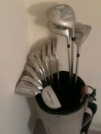 tour edge comp 950,  11 clubs, 4 to sw 3 woods