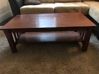 Solid wood coffee table  536 km
