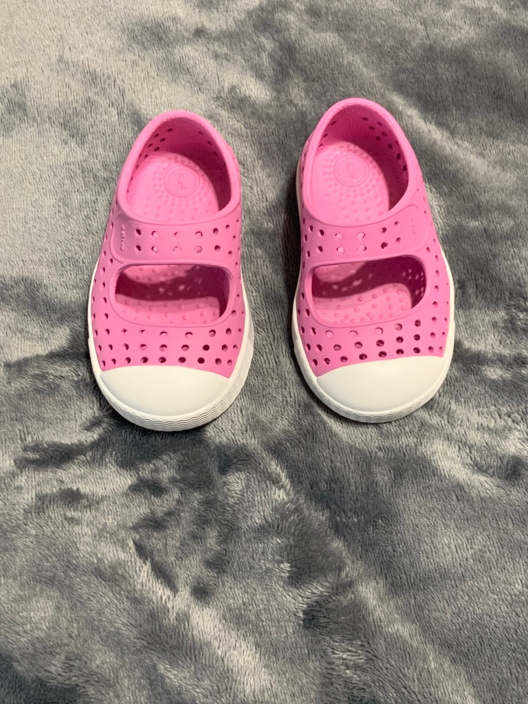 Photo TODDLER GIRLS PINK NATIVE SHOES