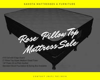 ROSE PILLOW TOP MATTRESSES ON SALE NOW   Toronto