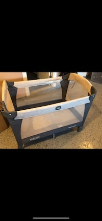 Graco pack and play crib