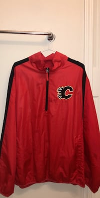 Flames windbreaker SIGNED Calgary, T3K 6K4