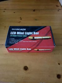 Amber flashing light bar Linden, 22642
