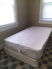 Twin size bed: Mattress and box spring - $25