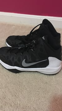 best website 5a39f d1243 1 pair black and white nike hyperdunk