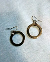 Grey/black earrings. Edmonton, T5K 2A6