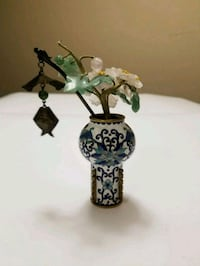 Asian Floral figurine