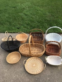 Baskets in various sizes Toronto, M3H 4A5