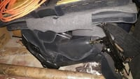 black and gray motorcycle jacket Oakville, L6H