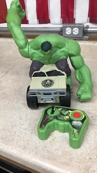 Hulk remote control toy