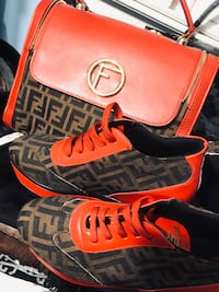 Matching fendi shoes and purse  Dearborn Heights, 48125