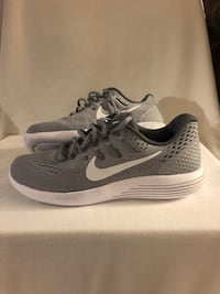 Pair of gray nike running shoes Mililani, 96789