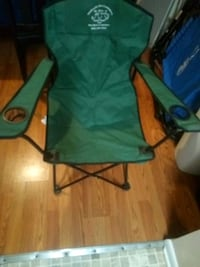 Two travel chairs