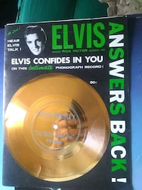 Magazine with record by Elvis Presley 1956 West Valley City, 84128