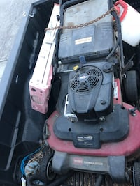black and red push mower Hollister, 95023