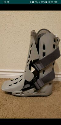 Tall shoe for support during fracture Houston, 77024