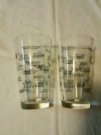 two clear glass beer mugs Spring Hill, 34610