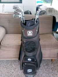Golf clubs and bag , 9 irons in the all Oklahoma City, 73106