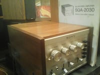 Mint Condition Sony 4-channel decoder/ amplifier