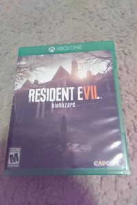 Resident Evil Biohazard Xbox One game case Evansville, 47711