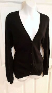Women's Black Cardigan Pointe-Claire