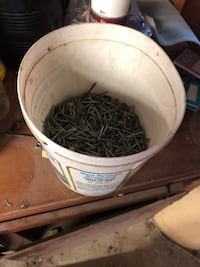 Big Bucket of all the same useable  nails half filled Baton Rouge, 70811