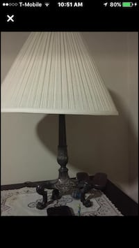 black and white table lamp Falls Church, 22042