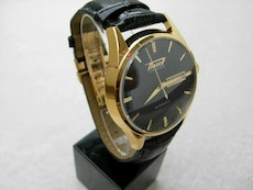 Tissot Visodate Heritage Automatic Black Dial Gold