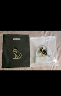 October's Very Own OVO Owl Beanie Gray Winter Cap Hat Toque Drake   Mississauga, L4Z 4E9