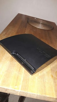svart Sony PS3 Slim Trondheim, 7056