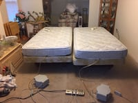 Two twin beds with select comfort air mattresses Mount Airy
